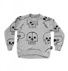 Skull robot sweatshirt