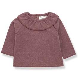 Clementina t-shirt, with collar