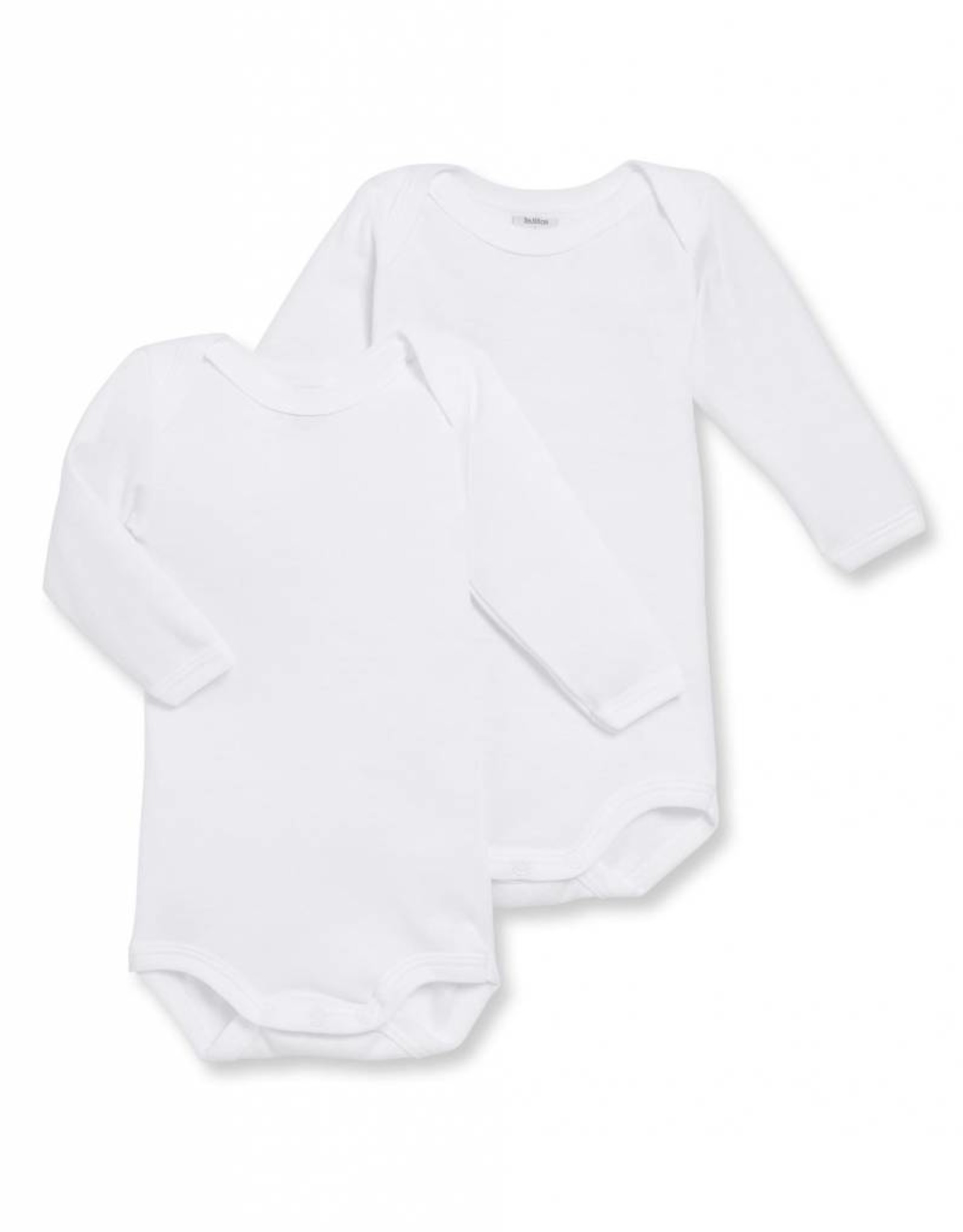 Set of 2 bodysuits, long sleeves