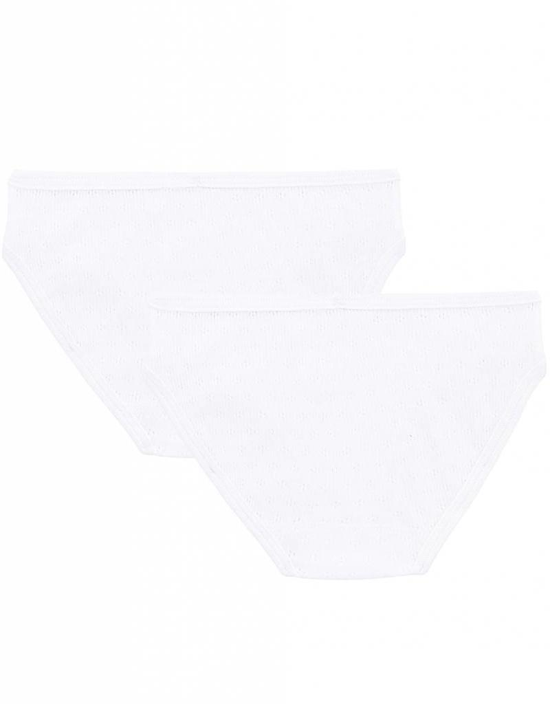 Set of 2 openwork panties