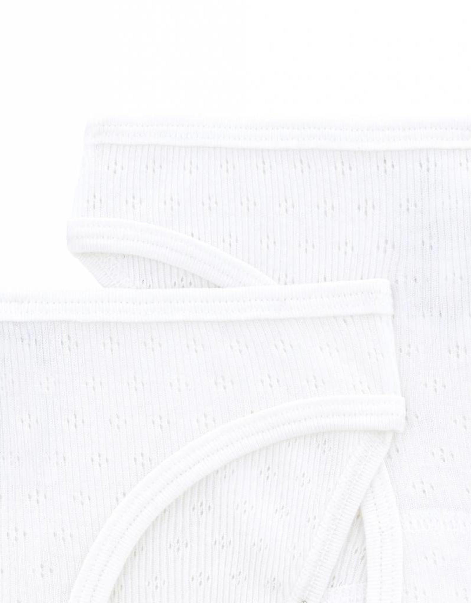Petit Bateau  Set of 2 openwork panties