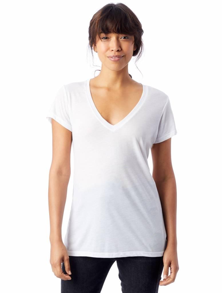Alternative Slinky Jersey V-Neck T-shirt