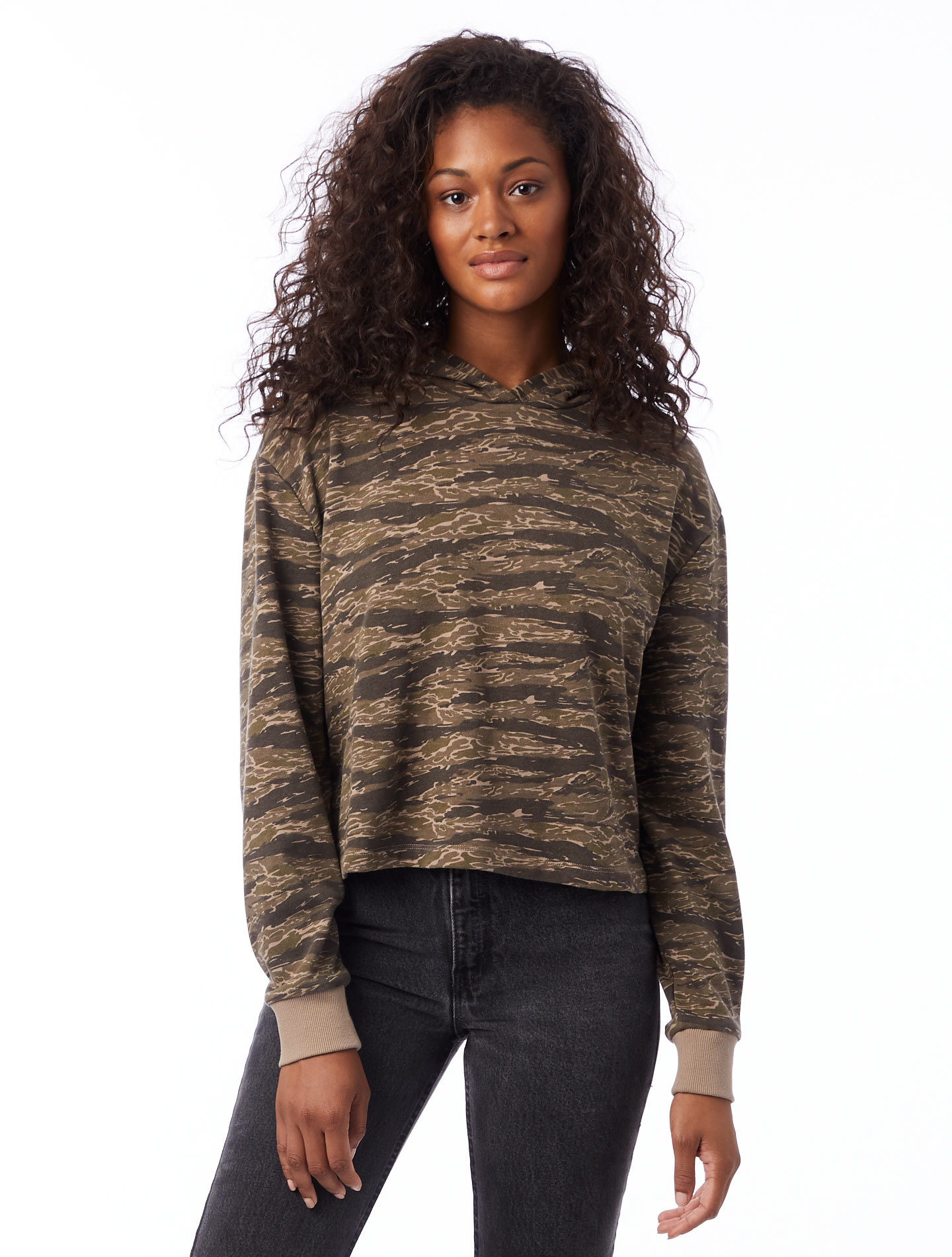 Alternative Lightweight French Terry Cropped Pullover