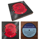 Vinylux Vintage Recycled Record Label Coasters