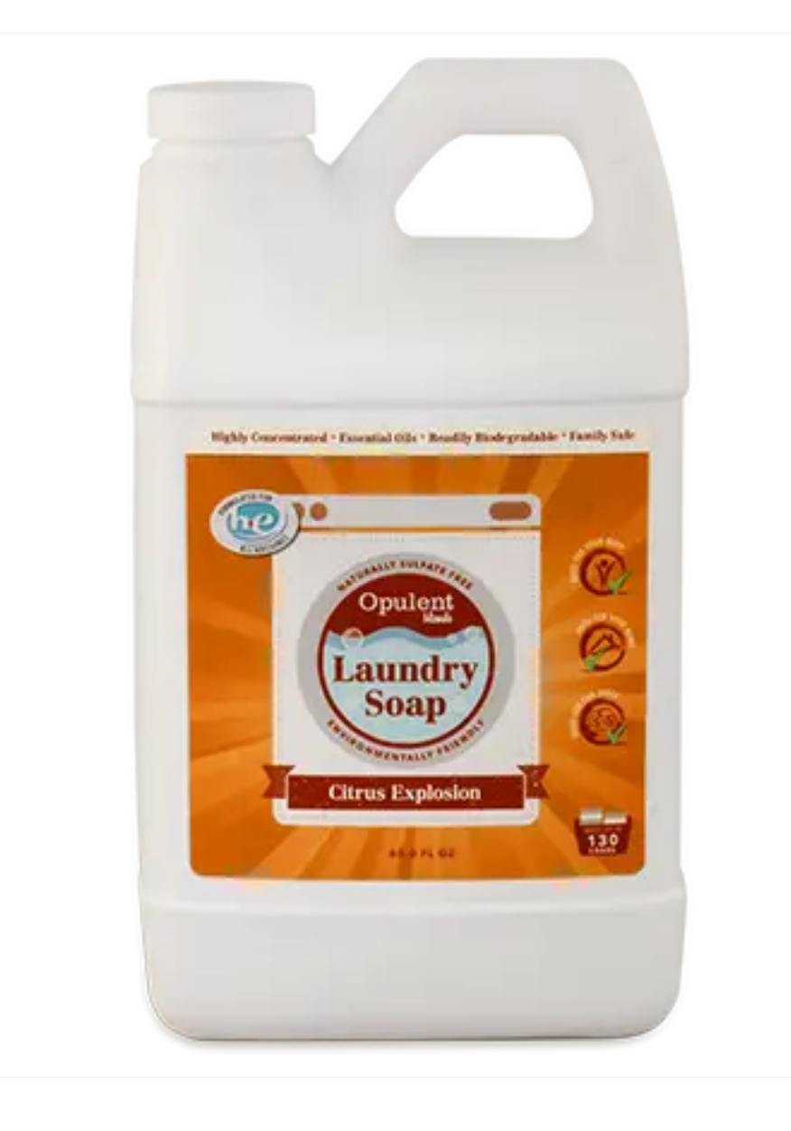 Opulent Blends All Natural Laundry Soap