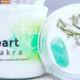 Nature's Artifacts Heart Chakra Crystal Candle  Crystal Candle for Fourth
