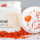 Nature's Artifacts Sacral Chakra Crystal Candle for Second