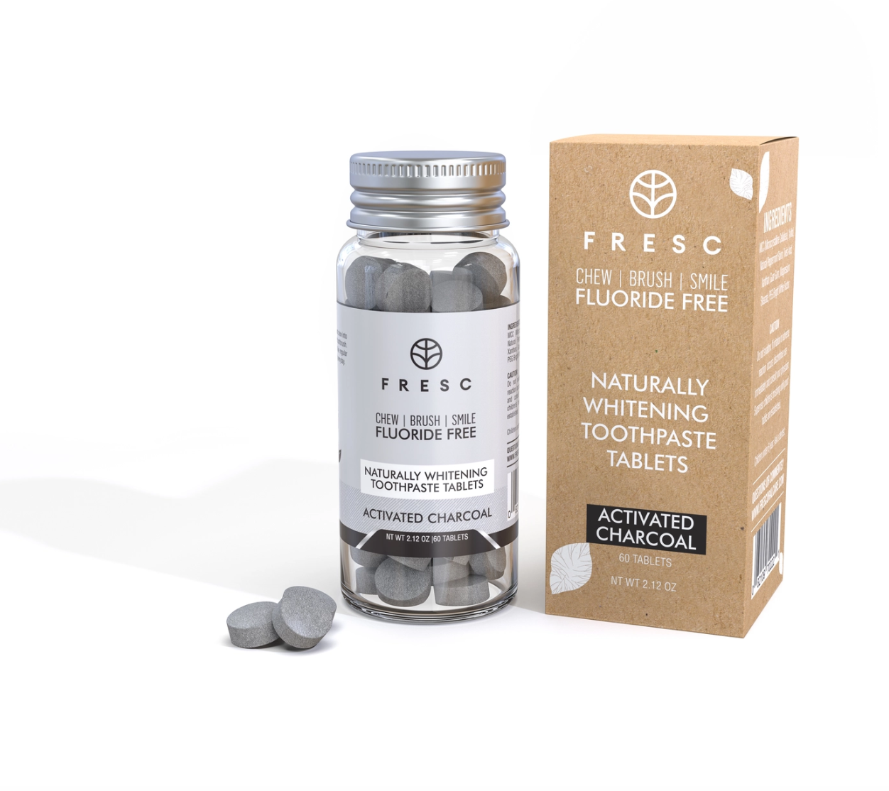 Fresc Activated Charcoal Toothpaste