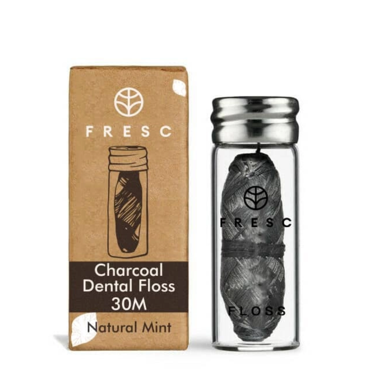 Fresc Activated Charcoal Floss