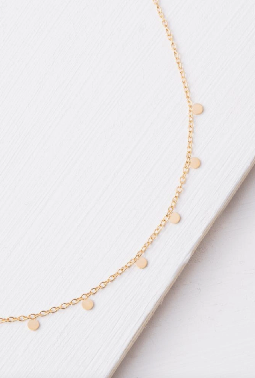 Starfish Project Evelyn Gold Drop Necklace