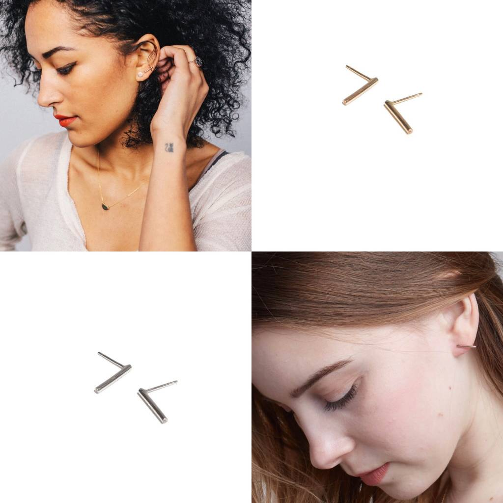 Fashionable Fashionable Stick Earrings