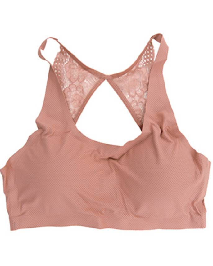 Yahada Bra Top With Lace