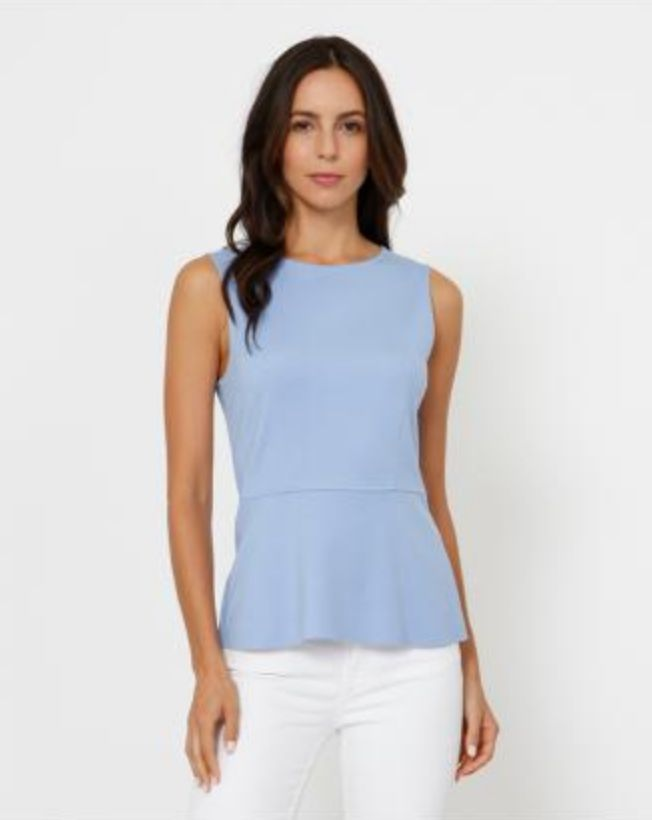 3DOTS Ponte Sleeveless Top