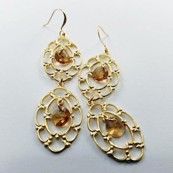 Verdier Florentine Gold Earrings