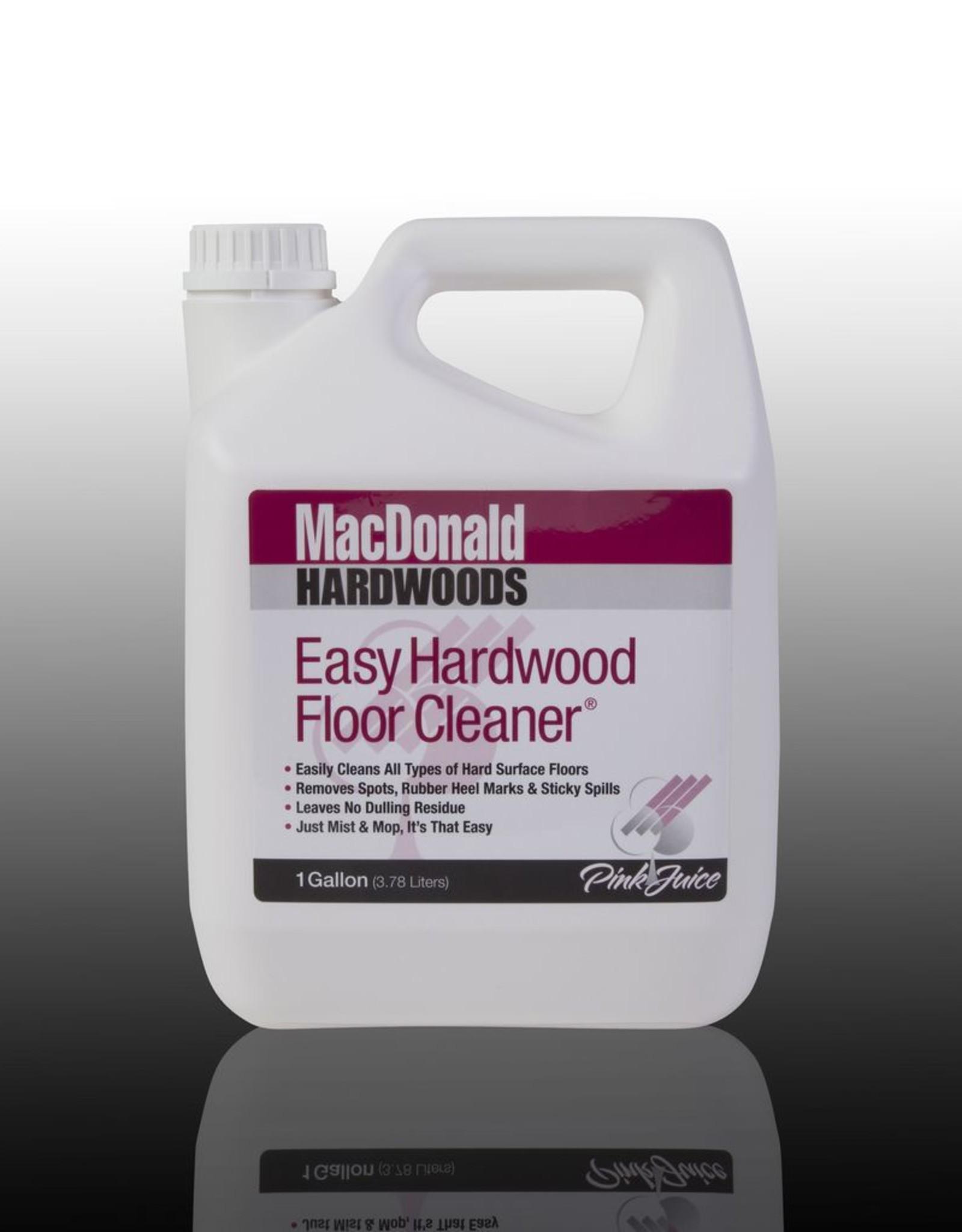 MacDonald MacDonald Easy Hardwood Floor Cleaner, One Gallon