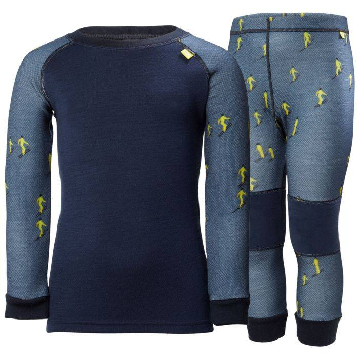 Helly Hansen 2018/19 Helly Hansen Kids Lifa Merino Base Layer Set | Canada
