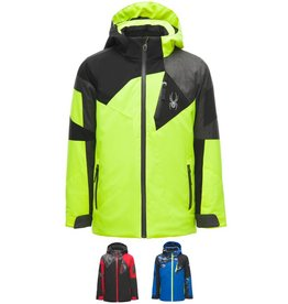 Spyder 2018/19 Spyder Boys' Leader Ski Jacket | 8-16 yrs