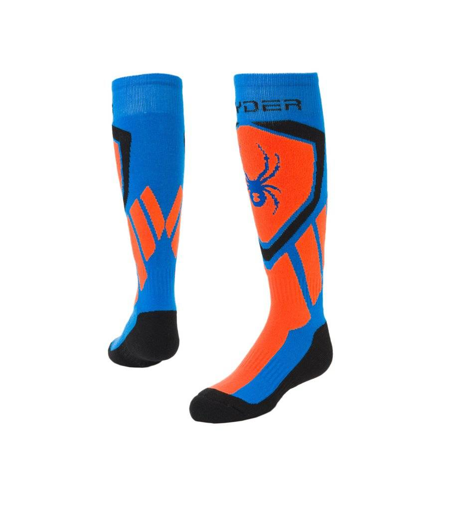 Spyder 2018/19 Spyder Boys' Dare Ski Socks | 8-16 yrs