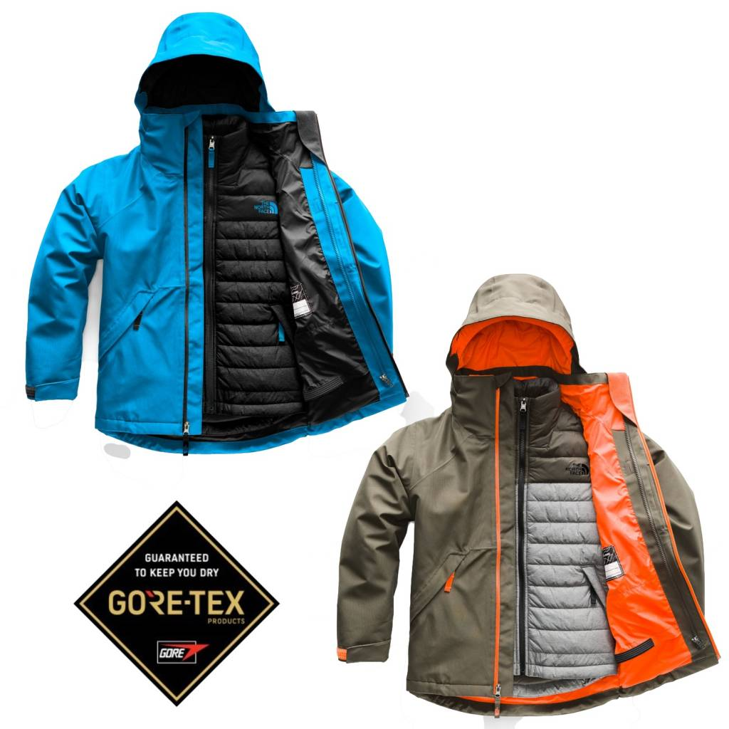 The North Face 2018/19 North Face Boys' Fresh Tracks GORE-TEX Tri-Climate Jacket   5-18 yrs