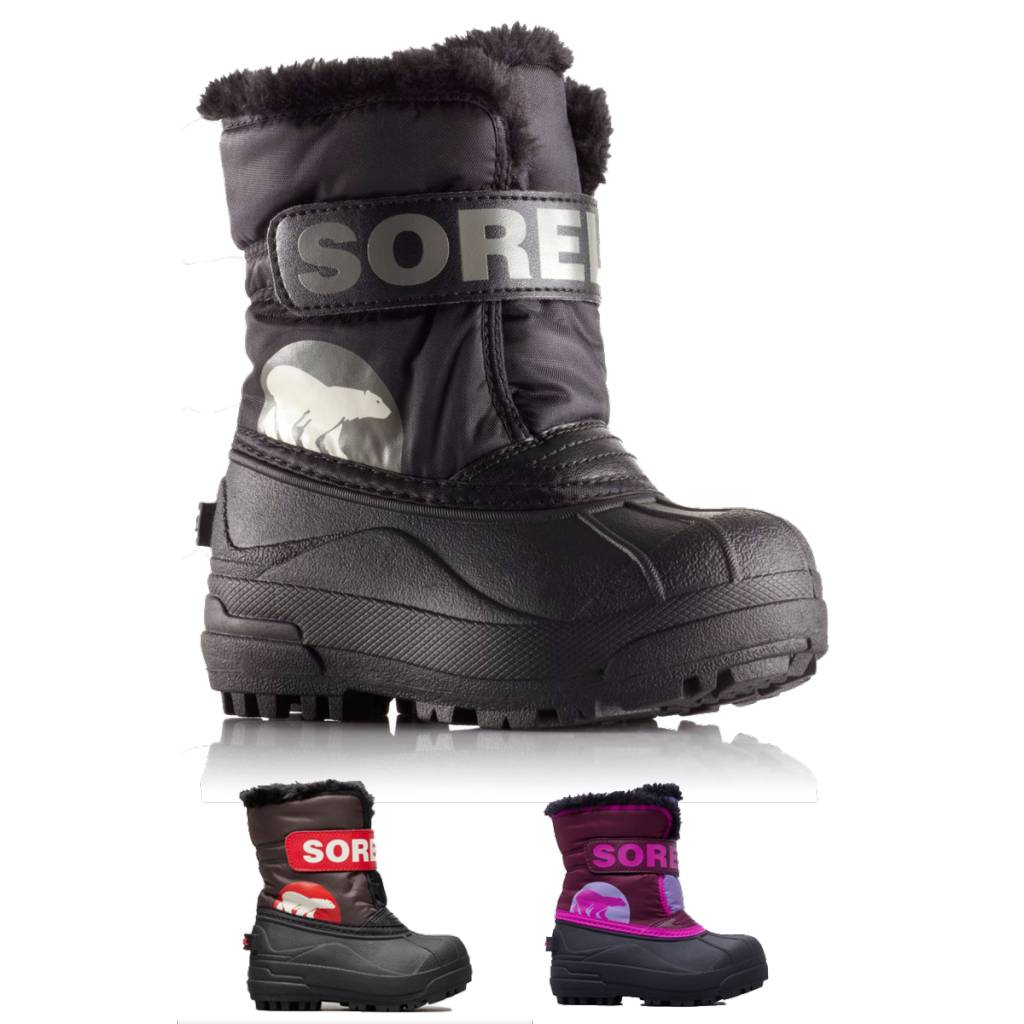 Sorel Sorel Toddler Snow Commander Winter Boots | Shoe sizes 4-7