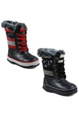 Bogs BOGS Youth Arcata Lace Stripe Winter Boots | Sizes 10-6