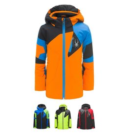 Spyder 2018/19 Spyder Boys Mini Leader Ski Jacket | 3-7 yrs