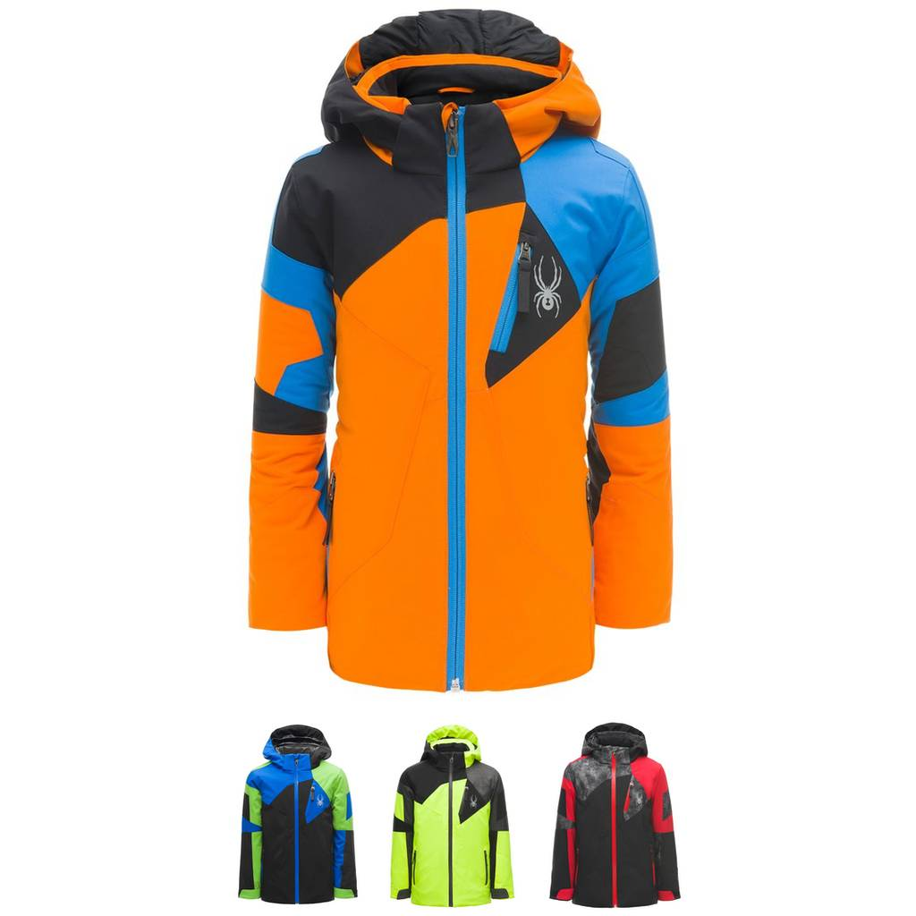 3378f23a912c 2018 19 Spyder Boys Mini Leader Ski Jacket