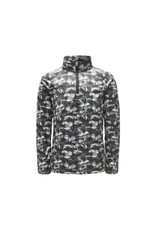 Spyder 2018/19 Spyder Mini Boys' Limitless Bug Camo Zip T-Neck | 2-7 yrs