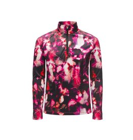 Spyder 2018/19 Spyder Girls' Limitless Daybreaker Zip T-Neck | 8-16 yrs
