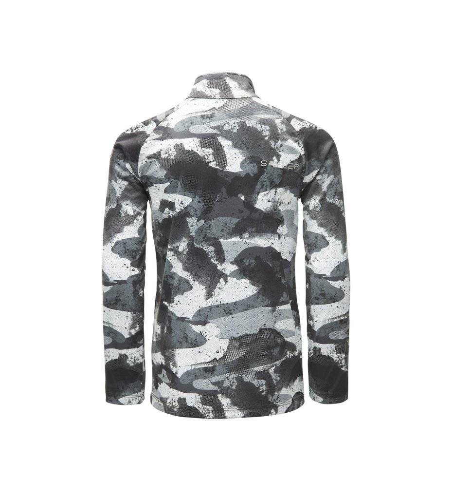 Spyder 2018/19 Spyder Boys' Limitless Camo Zip T-Neck | 8-16 yrs