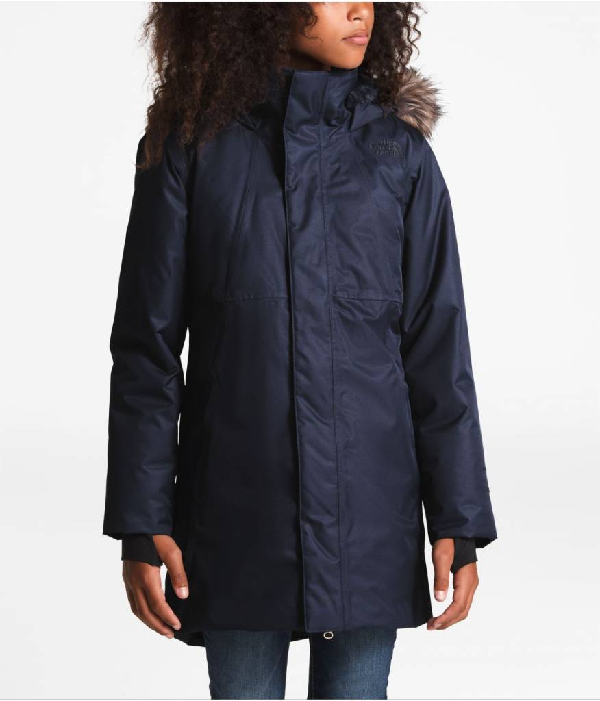 The North Face 2018/19 North Face Girls' Arctic Swirl Down Jacket   5-18 yrs
