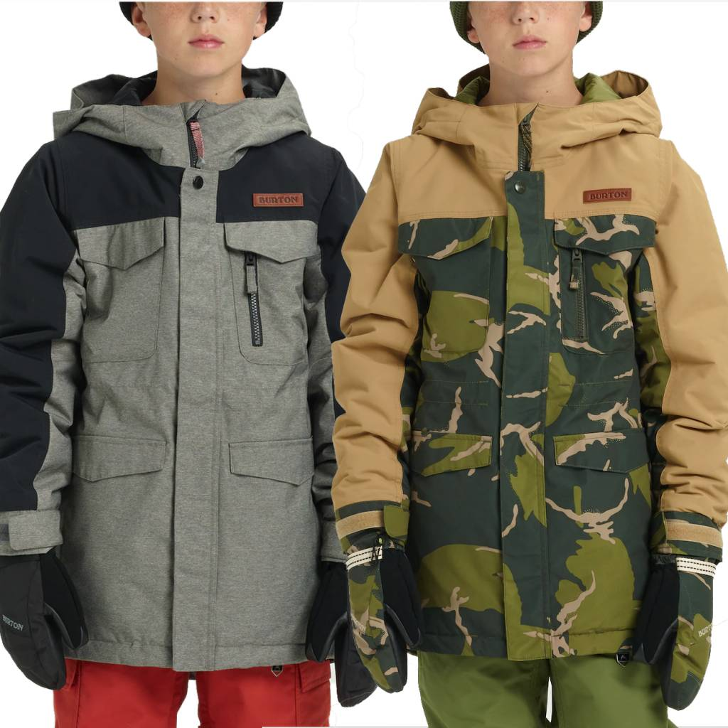 Burton 2018/19 Burton Boys' Covert Jacket | 5-18 yrs