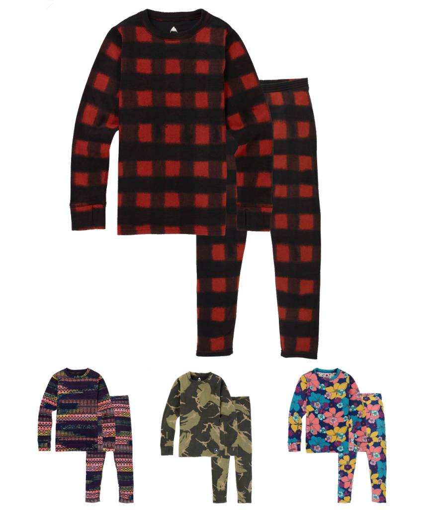 Burton 2018/19 Burton Youth Fleece Base Layer Set | 6-18 yrs