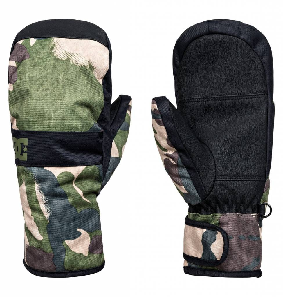 2a4633598 DC Youth Boys Franchise Ski Snowboard Mittens