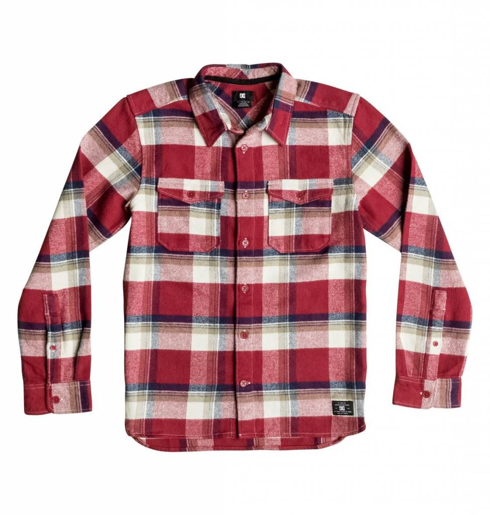 32e58a363 DC Boys' Marsha Long Sleeve Shirt - Mountain Kids Whistler ...