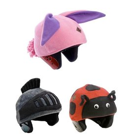 Tail Wags Kids Ski Helmet Cover (Fleece) by Tail Wags