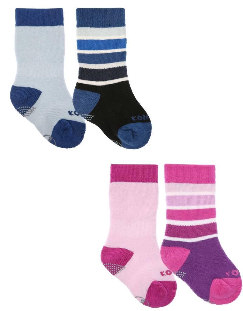 Kombi Kombi Baby Infant Twin Pack Socks