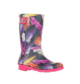 Kamik Kamik Girls' Feathers Rain Boots