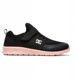 DC Shoes DC Girls Heathrow Prestige Elastic Velcro Shoes
