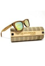 Wildwood Eyewear Wildwood Youth Zebra Wood Polarized Sunglasses