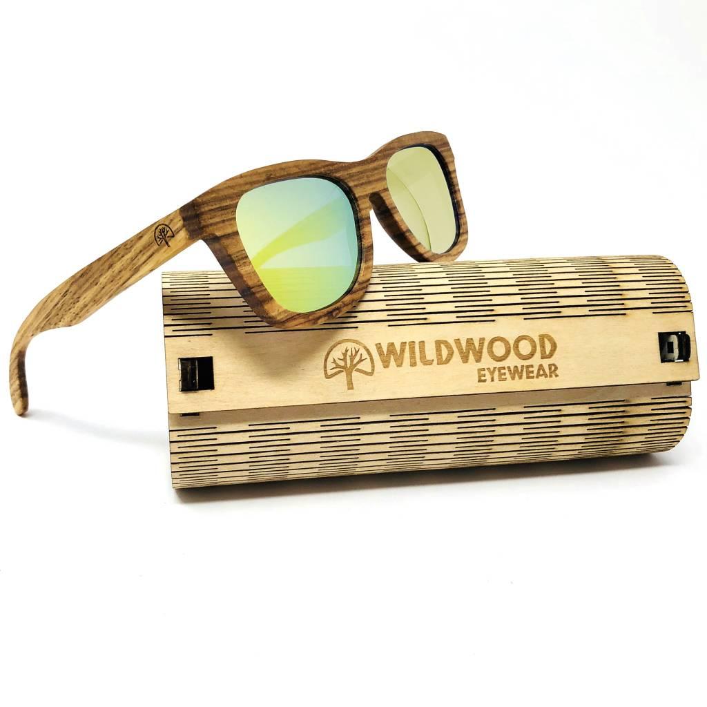 153e5d3e95f Wildwood Eyewear Wildwood Youth Zebra Wood Polarized Sunglasses ...