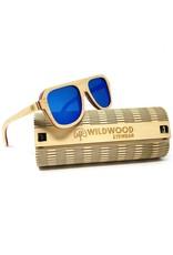 Wildwood Eyewear Wildwood Youth Aviator Maple Wood Polarized Sunglasses