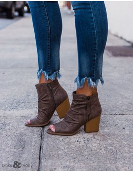 cd05ba149d Petite Open Toe Booties