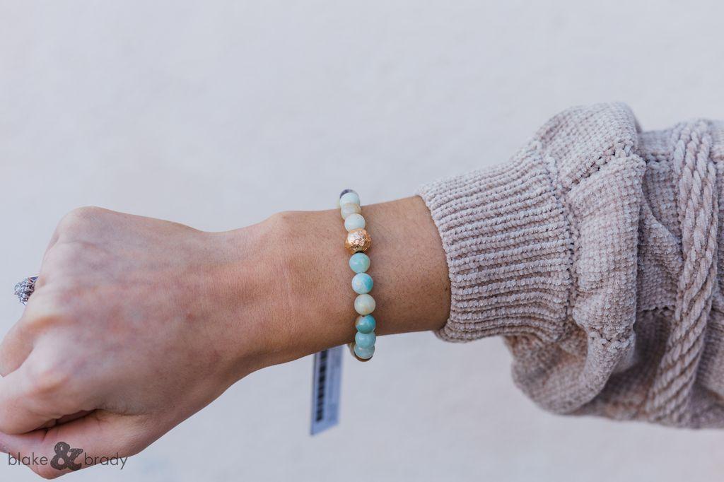 Assorted Pearl Bead Bracelet