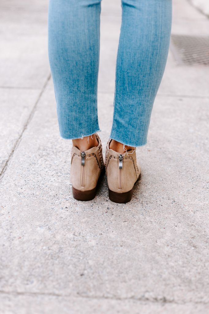 Sugar Threaded Ankle Boots