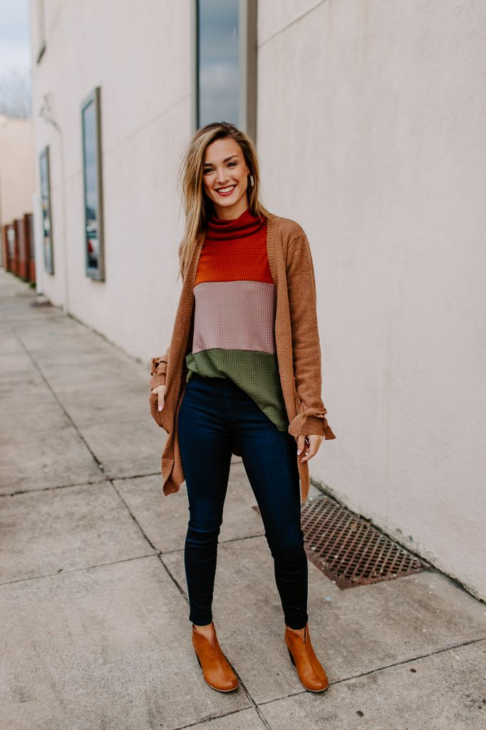 Sweater Cardigan with Pockets