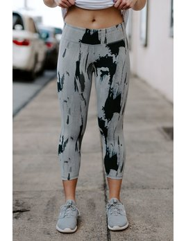Tasc Performance, Inc NOLA Crop Legging - Print