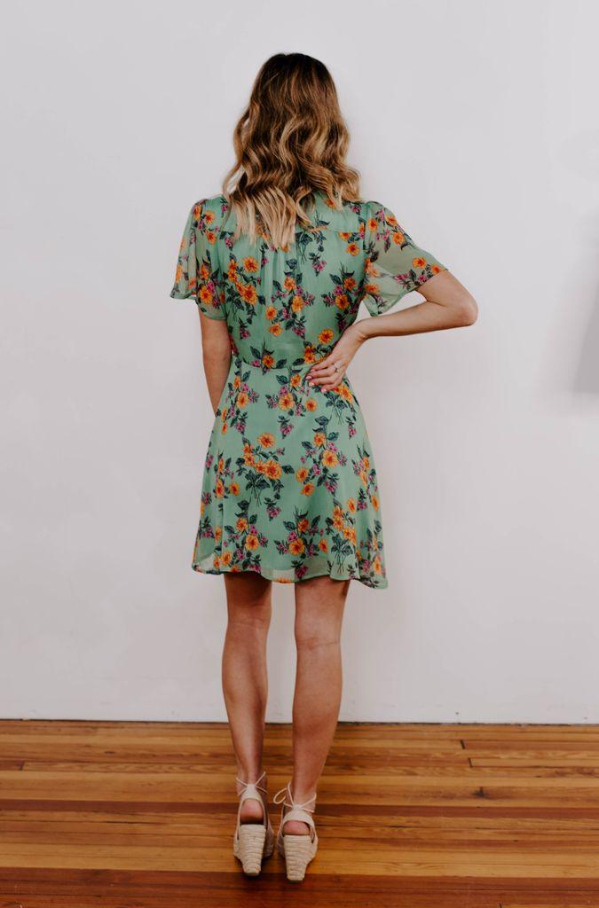 Mini Wrap Dress