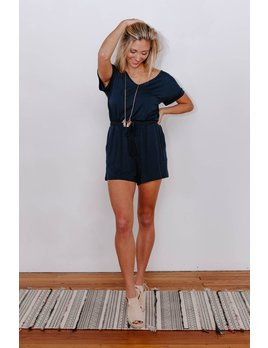 Z Supply The Blaire Sleek Jersey Romper