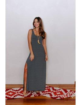 Z Supply The Micro Stripe Maxi Dress